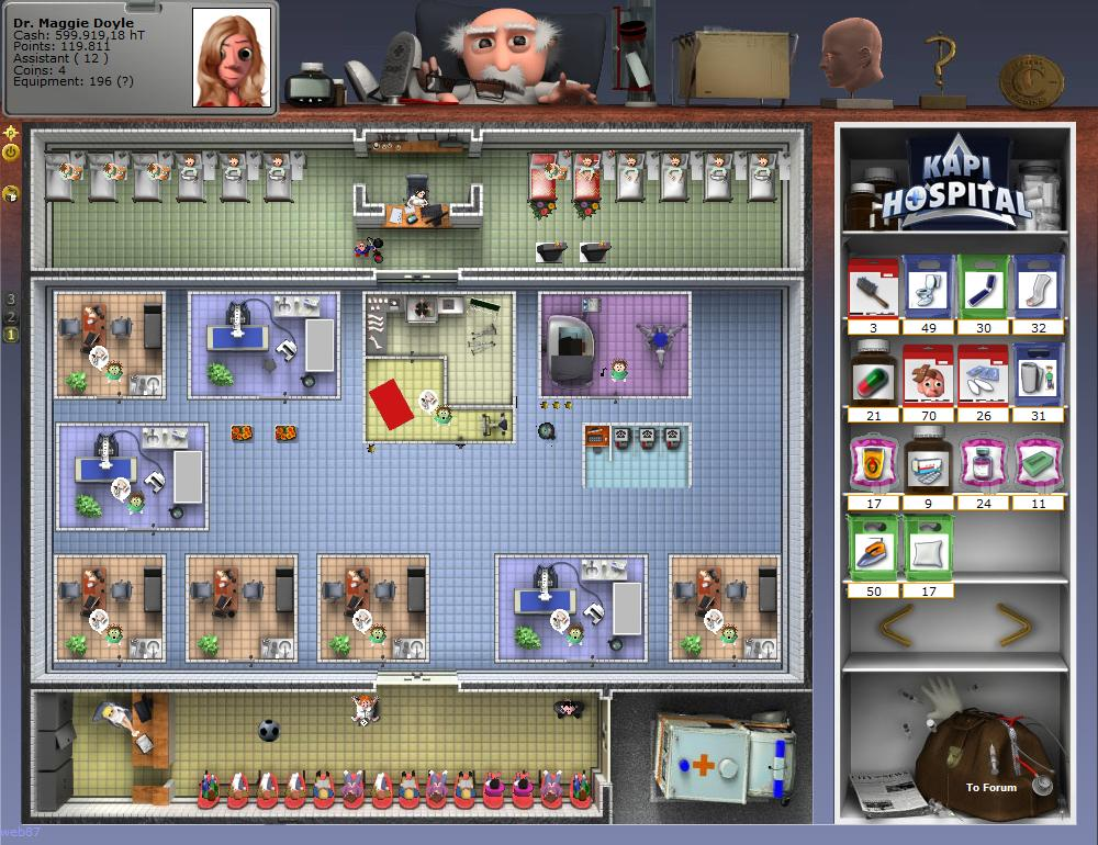 A mischievous game of doctors and nurses